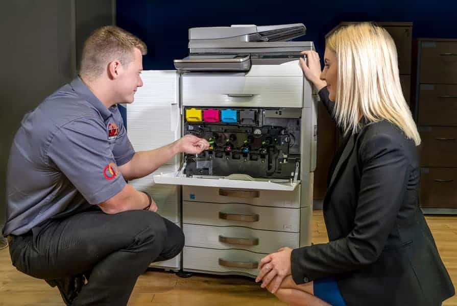 A & A Digital Group Photocopier repair demonstration